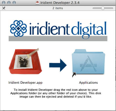 Iridient Digital - Iridient Developer Tutorials - Installation
